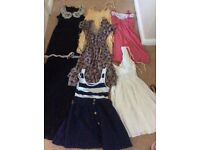 7 size 10 dresses