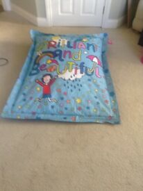 Jacqueline Wilson extra large bean bag