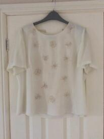 Jacques Vert blouse size 14