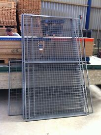 HEAVY DUTY WAREHOUSE PALLET RACKING STEEL MESH METAL PANELS CAT DOGS CAGES FENCING FOR SALE