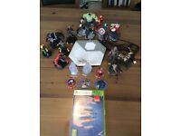 Skylanders Disney Infinity 2.0 for XBOX 360 game, portal, power discs and 14 characters