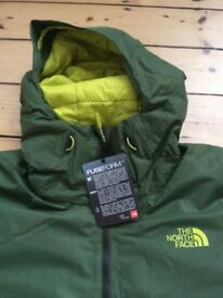 THE NORTH FACE DOT MATRIX MEN'S HYVENT INSULATED JACKET £125. MEDIUM. BNWT. RRP £260