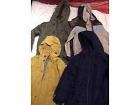 Boys coats age 7-8years