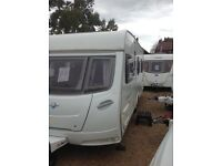 Lunar lexon 575 eb 2008 4 berth fixed bed