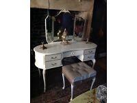Original Louis mahogany dressing table