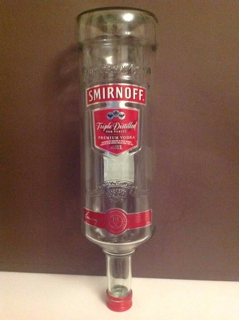 3L Smirnoff Bottle (EMPTY)