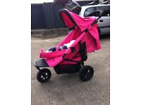 air buggy mimi pink, buggy pushchair pram stroller immaculately clean cond