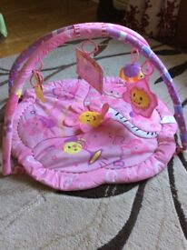 Baby pink play gym
