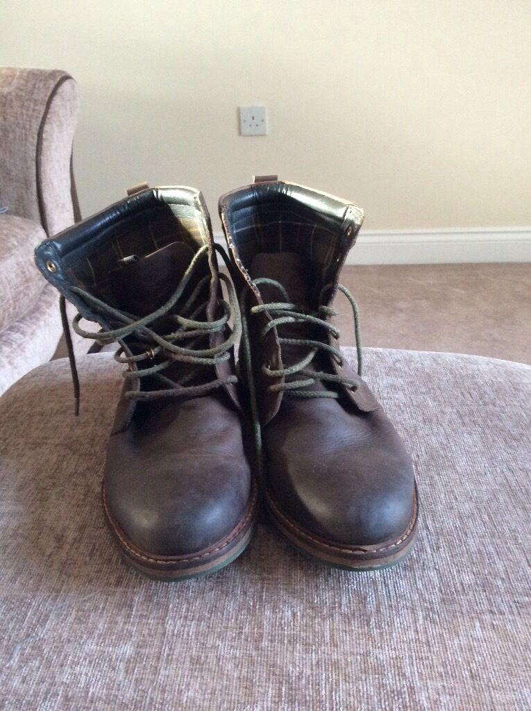Men's Barbour Boots Size 9