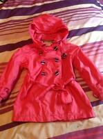 Manteau de printemps long 3 ans