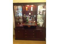 Large Sideboard, wall unit, drinks unit, display unit, excellent condition