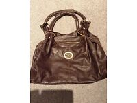 Gorgeous D & G Bag in soft brown leather