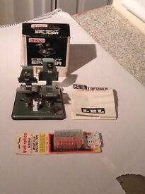 Cement Splicer for Ciney films Standard 8 and Super 8