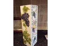 Wooden Decorated Wine Gift Box