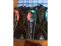 Age 10-12 Shortie Wetsuits