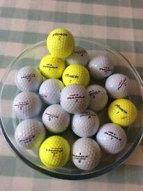 Pinnacle golf balls x18