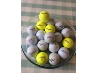 Pinnacle golf balls x18