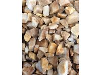 20 mm Spey garden and driveway chips / stones