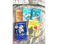 5 David Walliams books