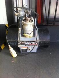 Wagner cs 9100 help 4 stage turbine paint spray