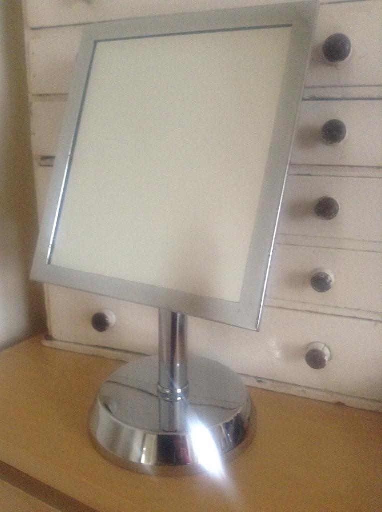 Next Bathroom Mirror Vanity Stand Only 2
