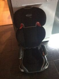 Graco car seat with detachable booster seat