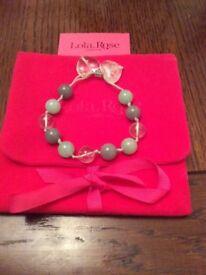 Lola Rose Tana Sea Green Multi Bracelet
