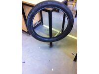 28 x 3 inch Vintage / Veteran Tyres Harley Davidson etc CLINCHER / BEADED EDGE