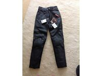 Ducati branded Dianese Leather trousers NEW size 10