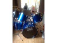 Session pro junior 5 piece drum kit.