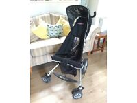 Micralite black buggy / pushchair / stroller - good condition
