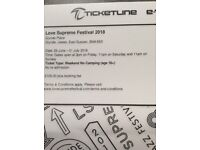 Love Supreme Weekend Ticket (No camping)