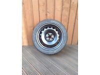 205/45/16 tyre and wheel