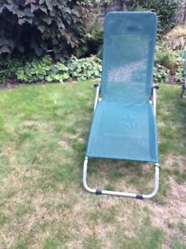 4 sunloungers (2 pairs) - can be bought as singles, pairs, or all 4
