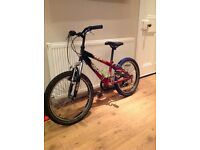 Boys bike Raleigh hot rod good condition