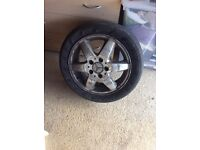 Mercedes A-class alloy wheels (without tyre)