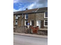 NO CHAIN 3-bed terraced house Ystrad Rhondda, Wales, well maintained, first time buyer or investment