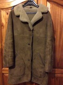 Ladies sheepskin coat for sale