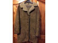 Ladies sheepskin coat for sale