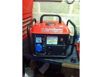 Compact Generator 850watt. As New. £75