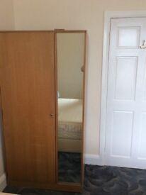 Light oak stag bedroom furniture