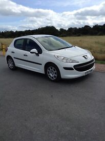 Peugeot 207 excellent condition £30 per year road tax and very economical