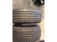 Continental 195x50/16 tyres