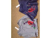 2 piece embroidered outfit from Monsoon age 3-4