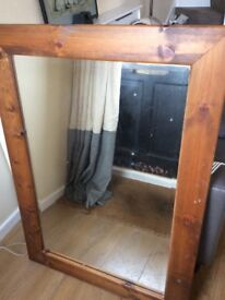 DISTRESSED BEVELLED MIRROR