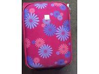 TRIPP, Pink flower, Cabin suitcase, 2 wheels