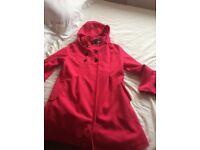 New cerise pink coat
