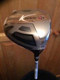 Wilson Staff Shockwave Driver, NEW in cellophane