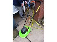 Challenge. Hover lawnmower £20 perfect order