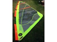 Tushingham 4.7m Windsurf sail Start beginners